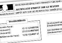 Avis D Imposition Et Paiement De L Impot